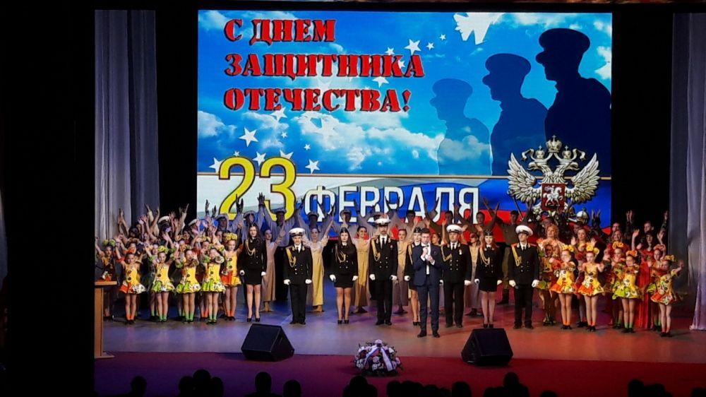 Министерством культуры Крыма организован праздничный концерт ко Дню защитника Отечества