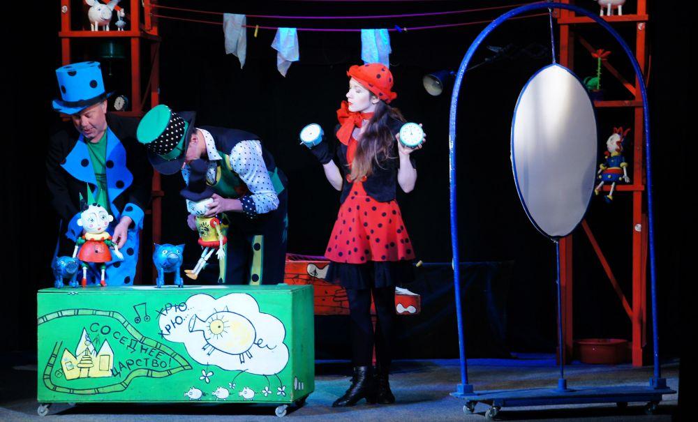 В Севастополе состоятся показы спектаклей Крымского академического театра кукол