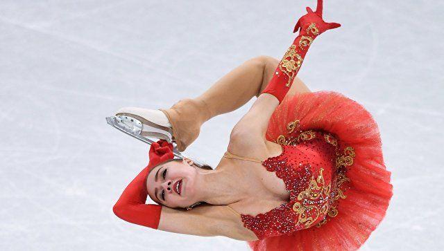 Фигуристка Алина Загитова завоевала для России первое золото на ОИ-2018