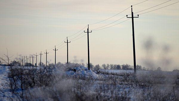 Более десяти сел в Крыму остались без света из-за непогоды