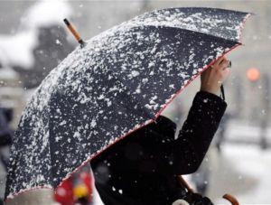 Сегодня на Крым обрушится сильный снегопад