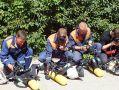 Спасатели «КРЫМ-СПАС» провели учебно-тренировочное занятие на объекте повышенной опасности