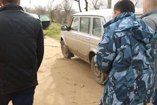 Появилось видео с убийцей семьи из Феодосии