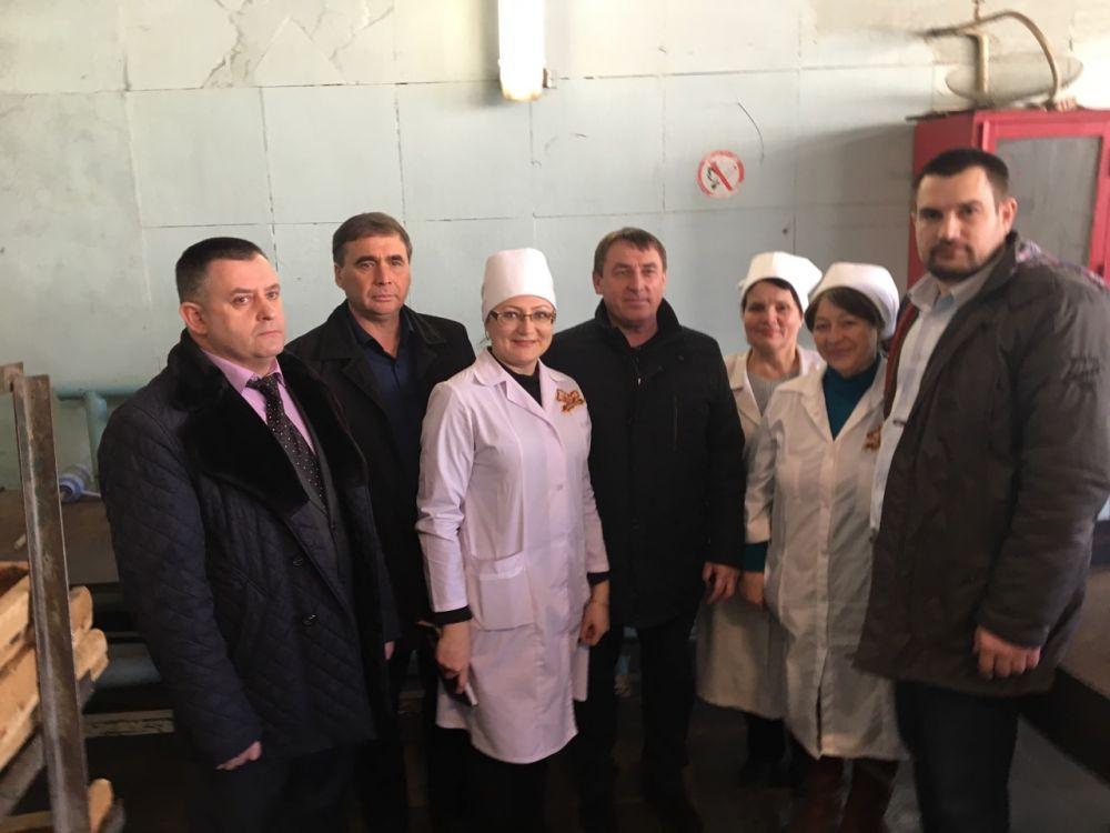 Андрей Рюмшин посетил Керченский хлебокомбинат ПАО «Крымхлеб» в рамках рабочей поездки