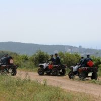 Крымские спасатели обеспечивают безопасность горных маршрутов