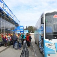 В Крым прибыли победители конкурса на путевку в МДЦ «Артек»