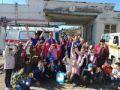 Специалисты аварийно-спасательного отряда «КРЫМ-СПАС» организовали показательное выступление для учащихся СОШ №2 г. Судак