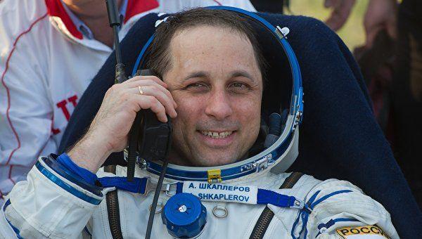 Космонавт Шкаплеров проголосовал на выборах с орбиты