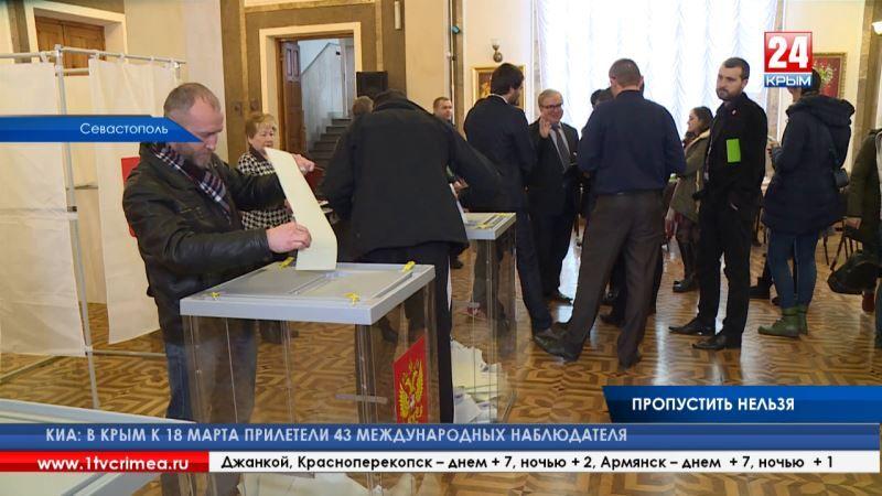 Международные наблюдатели: «В Севастополе мы не заметили никаких нарушений. Избирательный процесс прошёл в рамках закона»