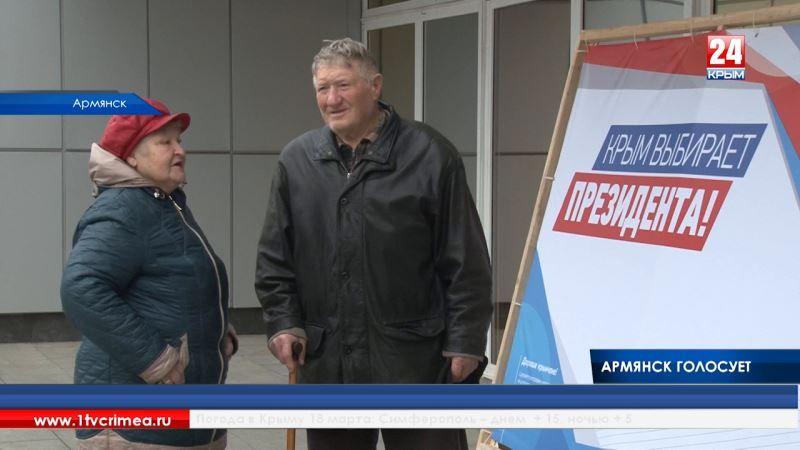 Сделал дело – гуляй смело: все избирательные участки Армянска открылись вовремя