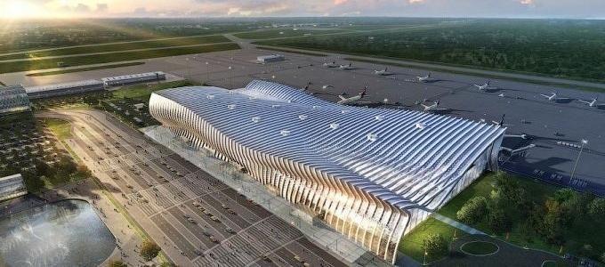 То, что видел только Путин: появилось новое видео аэровокзала Симферополя