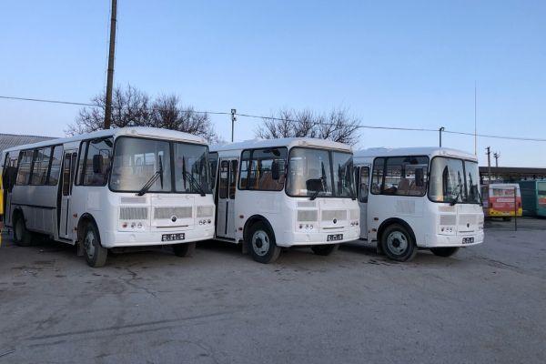В симферопольскую Каменку пустили новенькие автобусы