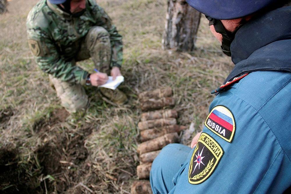 Под Севастополем нашли останки неопознанные бойцов Красной Армии