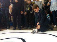 Воспитанники крымской гимназии для одарённых детей одержали победу в конкурсе «РобоФинист»