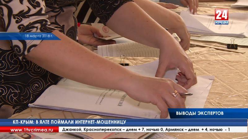 Ян Эпштейн: «Мировая общественность получит достоверную информацию о том, как проходили выборы президента России в Крыму»