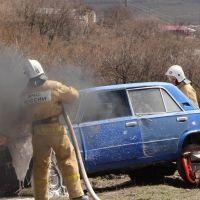 Огнеборцы МЧС России ликвидировали загорания трех авто
