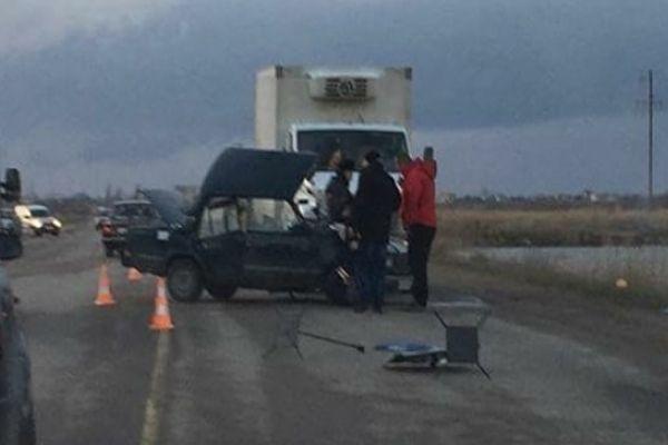 Жуткое ДТП в Евпатории: водителя вырезали из груды металлолома