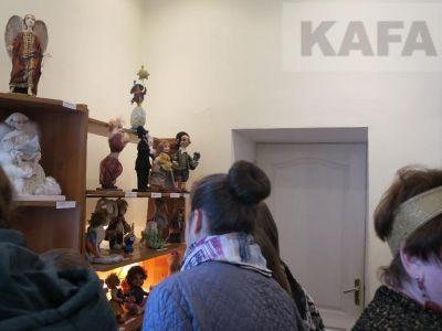В Феодосии проходит «Кукольный дворик»