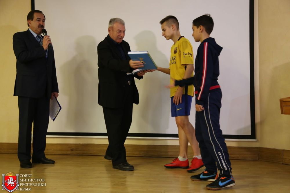 При поддержке Мининформа РК состоялась презентация книги «Летопись крымского футбола»