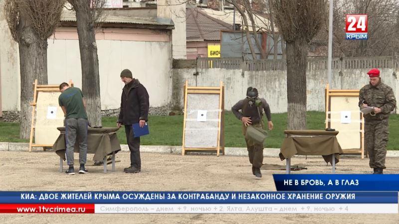 Без права на ошибку. В одной из воинских частей Симферополя прошла спартакиада допризывной молодёжи по прикладным видам спорта