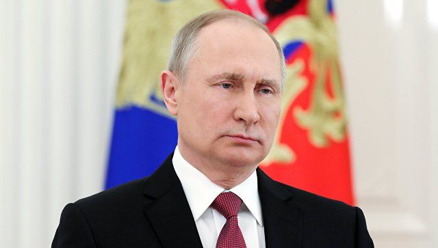 Путин поблагодарил россиян за поддержку