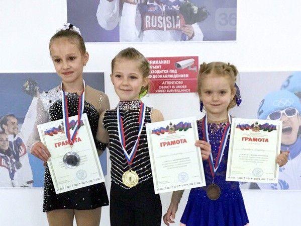 Юная ялтинская фигуристка стала призером лиги в Сочи