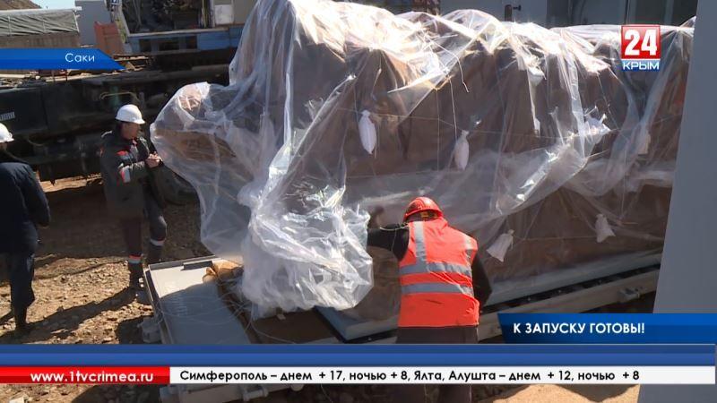 «Президентские» турбины и 4 первых российских дивертера. На Сакской ТЭЦ начались пусконаладочные работы
