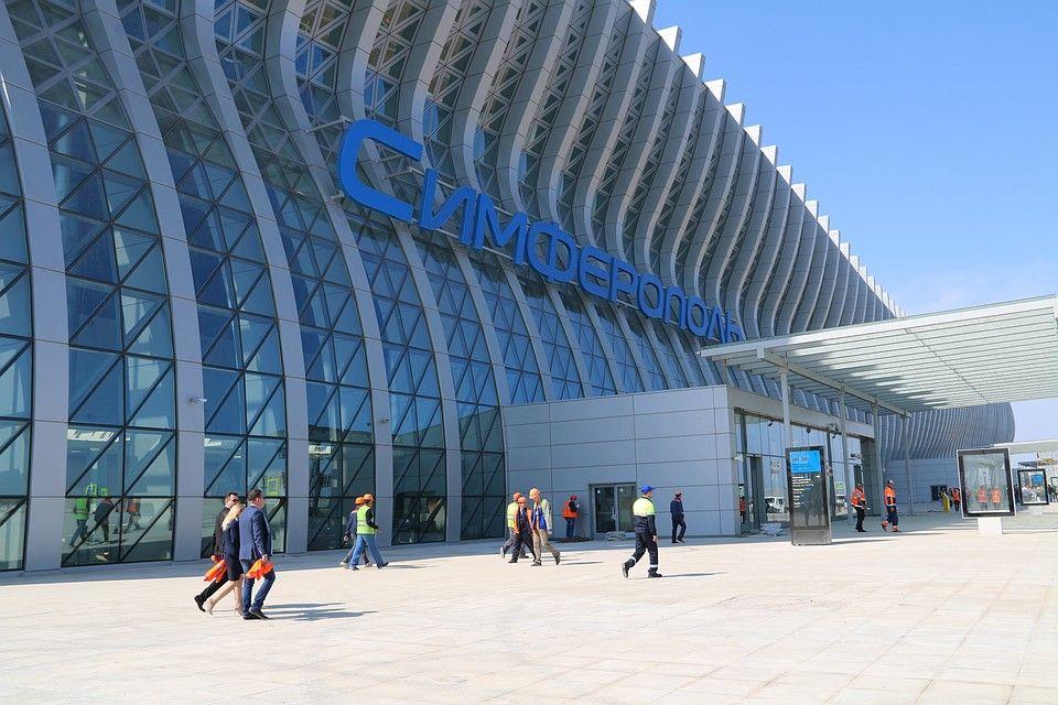 В Симферополе менятеся схема движение транспорта: с 16 апреля маршрутки и троллейбусы будут ходить до нового терминала аэропорта