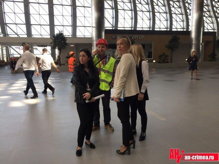 Общественник: настройке нового терминала аэропорта вСимферополе умер человек