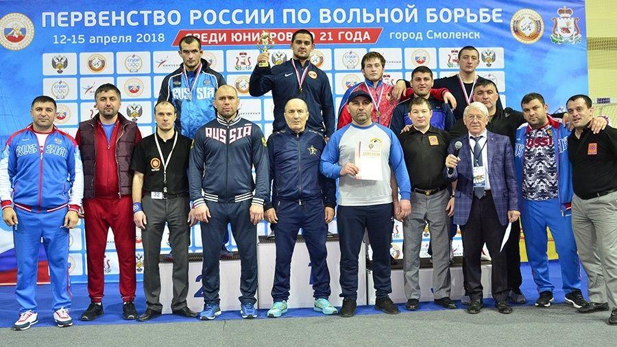 Алуштинец Сослан Хинчагов – победитель юниорского первенства России по вольной борьбе!