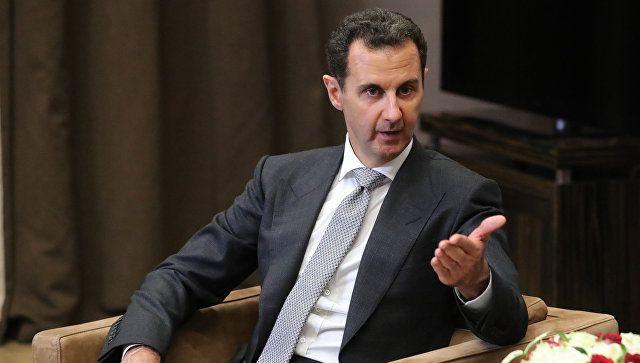 Асад подтвердил визит представителей Сирии на ЯМЭФ