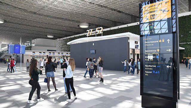 """В новом терминале аэропорта """"Симферополь"""" готовы встретить первого пассажира"""