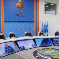 В МЧС России обсудили предварительные результаты соблюдения пожарной безопасности в торгово-развлекательных центрах и других объектах с массовым пребыванием людей