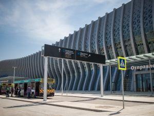 К новому терминалу аэропорта «Симферополь» запущен общественный транспорт