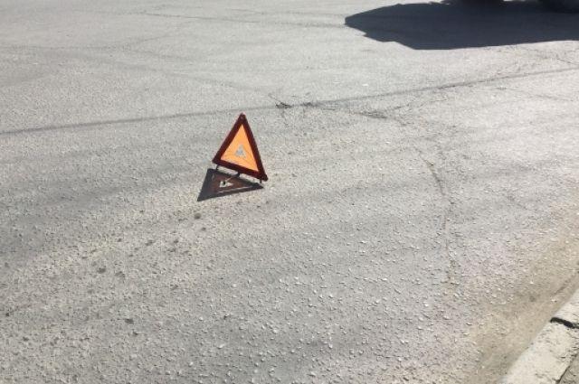 В Саках произошла авария, в результате которой пострадали два человека