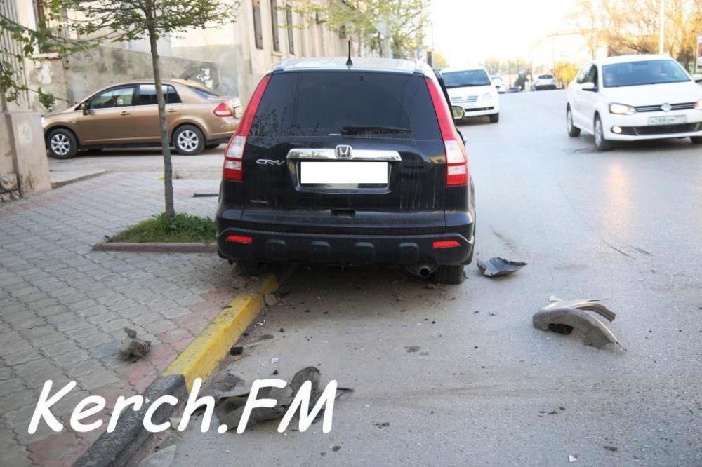 На Свердлова столкнулись две иномарки, есть пострадавшие