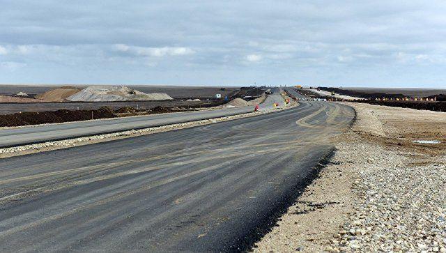В Крыму сообщили об археологических находках на стройке автоподхода к мосту