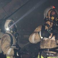 На пожаре в городе Симферополь эвакуировано 47 человек