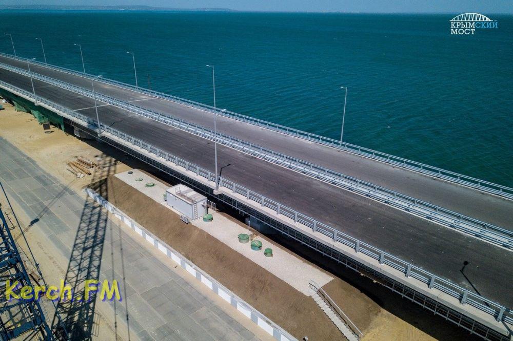 Ливневые воды с Крымского моста будут обеззараживать ультрафиолетом