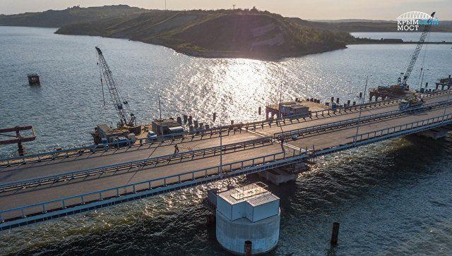 Строители Крымского моста сооружают локальные очистные сооружения