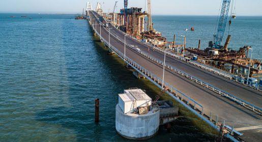 Строители Крымского моста приступили к монтажу очистных сооружений