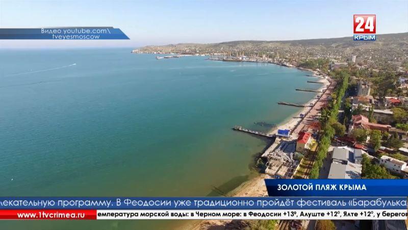 С. Фомич: «Техническая готовность Феодосии к курортному сезону – 1 мая, юридическая – 1 июня»