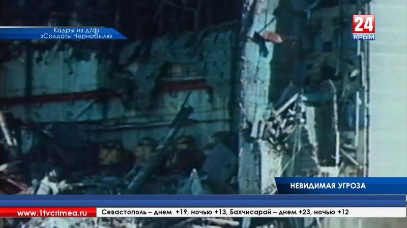 Крымчане почтили память ликвидаторов и возложили цветы к Мемориалу жертвам Чернобыльской катастрофы