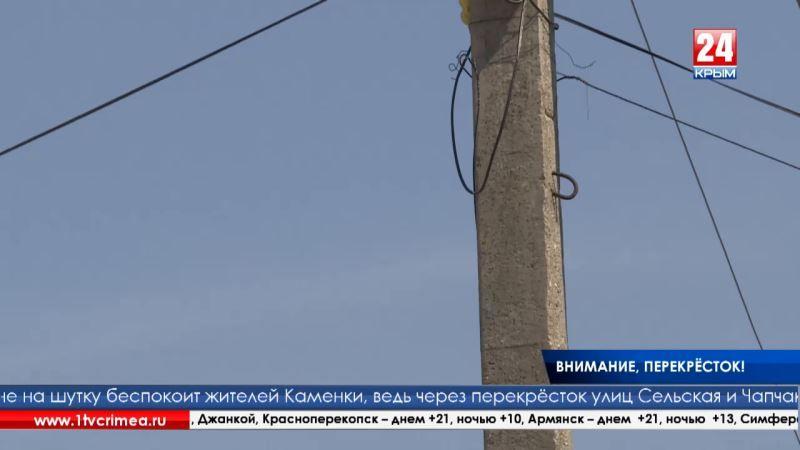 Предупредить беду: жители Каменки пожаловались властям на отсутствие дорожных знаков и незаконную торговую точку на оживлённом перекрёстке