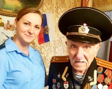В преддверии празднования Дня Победы прокуратурой Ялты осуществлен прием ветеранов Великой Отечественной войны