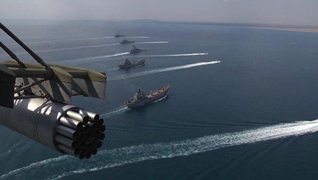 Английские ВВС объяснились в социальных сетях за«Тайфуны» над темным морем
