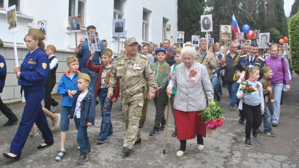 Гурзуф празднует День Великой Победы