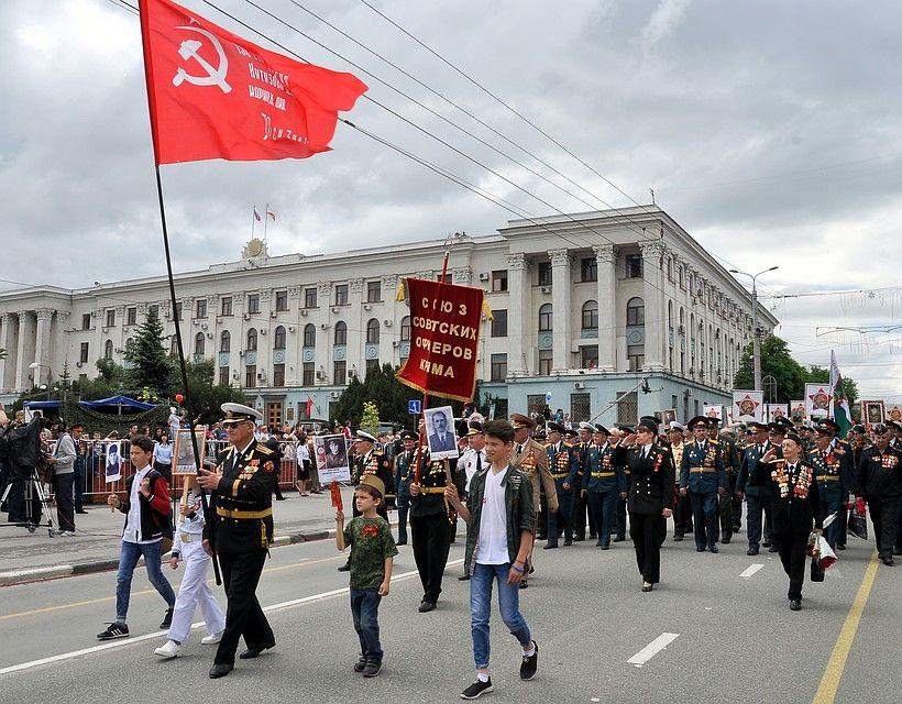Бессмертный полк-2018: В Крыму в акции приняли участие более 165 тысяч человек