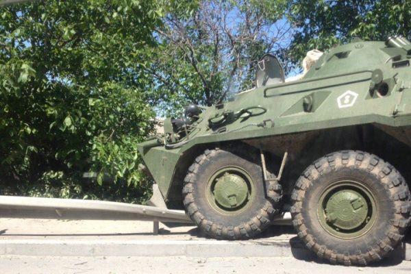 Два БТР попали в трагедию  под Симферополем