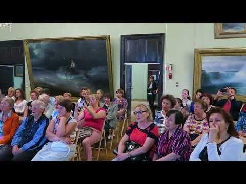 В галерее Айвазовского прошел праздничный концерт ко дню Победы